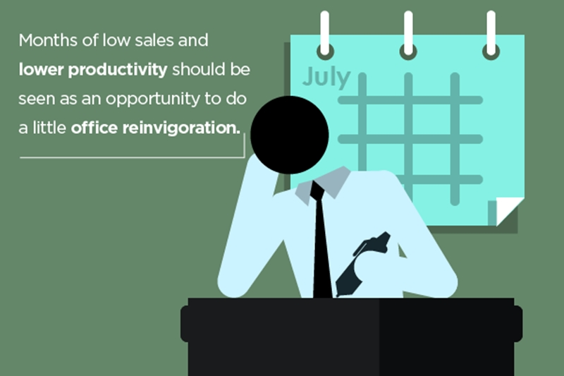 Use the slower months to your business's advantage.